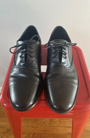 Men's Calvin Klein Leather Oxford Dress Shoes for Sale in Round Lake Heights, IL