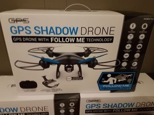 NEW ProMark Video Drone - Shadow with GPS - Includes Controller and VR Headset - Brand New in the box, sealed! Price for ONE Drone for Sale in Nashville, TN