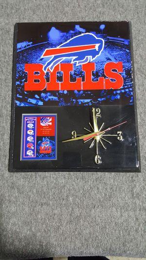 Buffalo Bills Clock for Sale in Poland, NY