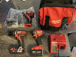 Milwaukee Drill/impact drill lot for Sale in Houston, TX