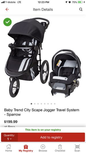 Baby trend jogger stroller like new only used a few times for Sale in La Habra, CA