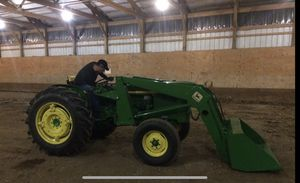 John Deer tractor with Kaiser Edge attachment for Sale in Lockport, IL