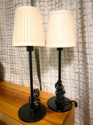 2 Table Lamps Barely Used for Sale in Seattle, WA