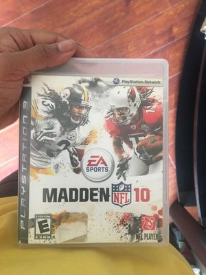Madden 10 *Play station 3 * for Sale in Temple Hills, MD