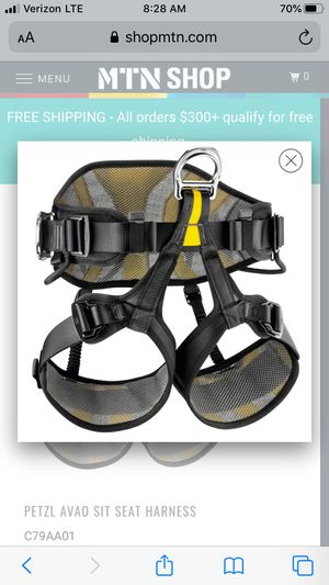 Petzl Avao Harness for Sale in Elk Grove, CA