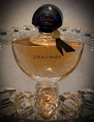 Shalimar GUERLAIN PARIS Eau de Parfum EDP France/French Natural Perfume Spray Brilliantly Faceted Glass Bottle. 1.6 fl oz NEW for Sale in San Diego, CA