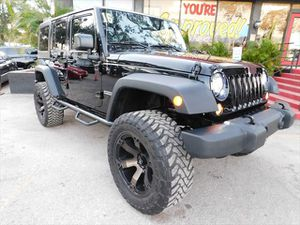 2016 Jeep Wrangler Unlimited S for Sale in Tampa, FL