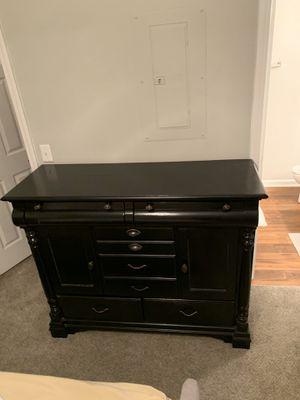 Antique Black Dresser for Sale in Brentwood, NC