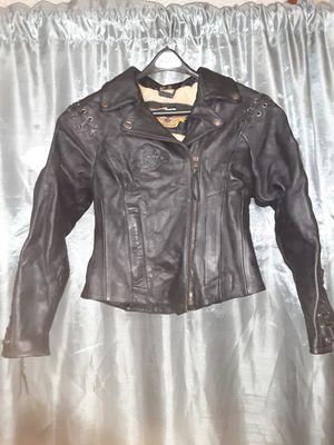 Harley Davidson Leather Jacket a 36/8 for Sale in White Hall, AR