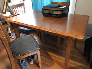 Dining table + chairs for Sale in Vancouver, WA