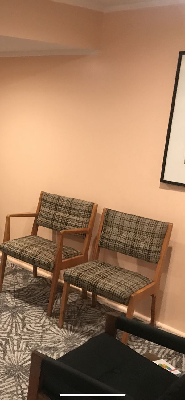3 mid century chairs