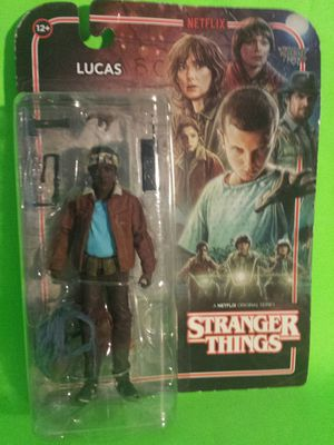 STRANGER THINGS figure LUCAS NEW for Sale in Irwindale, CA
