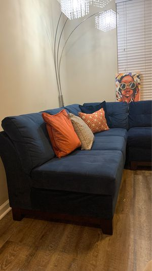 Sectional Couch with Ottoman for Sale in Atlanta, GA