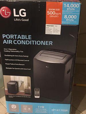 LG. Portable Air Conditioner 14000 BTU for Sale in Waikoloa Village, HI