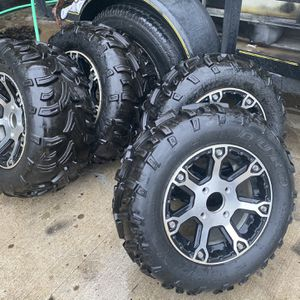 Atv Arctic Cat Rims And Tires for Sale in Bloomingdale, IL