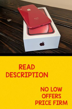 IPHONE XR 128 TMOBILE ONLY for Sale in Pompano Beach, FL