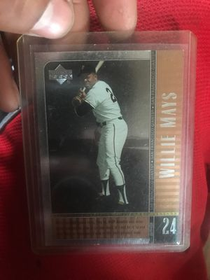Willie Mays baseball card for Sale in Philadelphia, PA