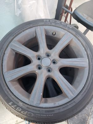 Set of 215/45 R17 tires with rims for Sale in Baldwin Park, CA