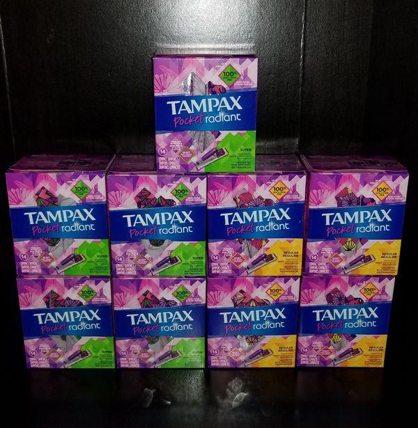Tampax Pocket Radiant