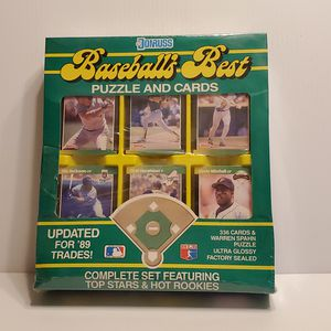 1989 MLB DONRUSS BASEBALL 336 cards. Griffey Jr. Rookie, Sosa. New for Sale in Campbell, CA