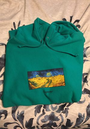 Supreme Aqua Van Gogh Size Large for Sale in Sterling, VA