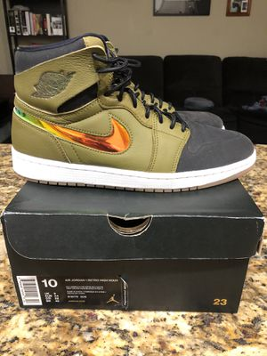 Jordan 1 Nouveau 'Military Green' for Sale in Maitland, FL