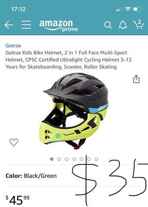 Got tax kids bike helmet for Sale in Dallas, TX