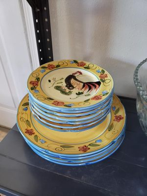Rooster Dinner Plates for Sale in Tacoma, WA