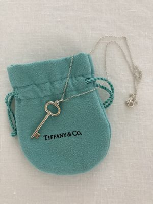 Tiffany & Co. Key Pendant Necklace for Sale in Glendale, CA