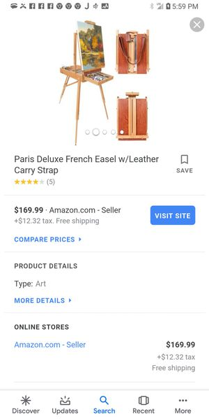 Art easel for Sale in Sunbury, OH