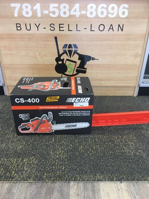 """ECHO CS-400 18"""" 40.2cc Gas 2-Stroke Cycle Chainsaw BRAND NEW for Sale in Lynn, MA"""