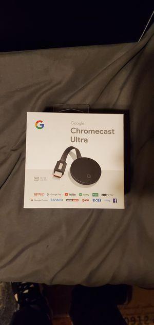 Google chromecast ultra for Sale in Phoenix, AZ