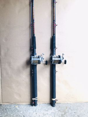 Two fishing Rods/Reels Combos for Sale in Glendale Heights, IL