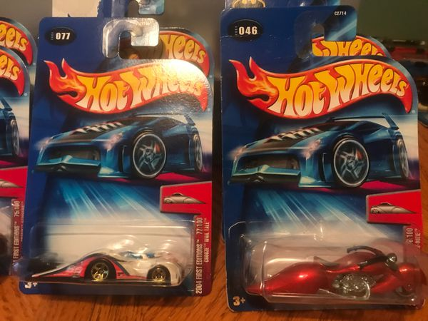 HOT WHEELS 2004 FIRST EDITIONS 49/100 CROOZE LOW FLOW SHORT CARD
