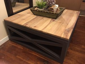 Large Farmhouse Coffee Table for Sale in Norfolk, VA