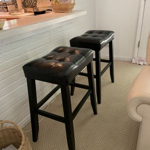Leather bar stools for Sale in Pittsburgh, PA