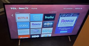 TCL 50inch ROKU TV MINT CONDITIONS! for Sale in Phoenix, AZ