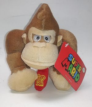 "Nintendo Super Mario Brothers DONKEY KONG 5"" Plush STUFFED ANIMAL Toy Pre-owned. Pre-owned for Sale in El Paso, TX"