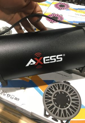 AXESS BLUETOOTH SPEAKER MIXED COLORS for Sale in Royal Oak, MI