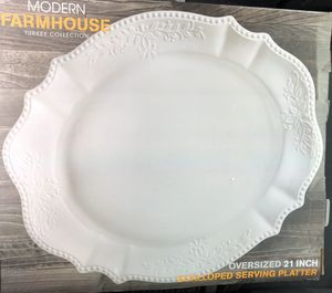 X-Large Scalloped Oval Platter for Sale in West Palm Beach, FL