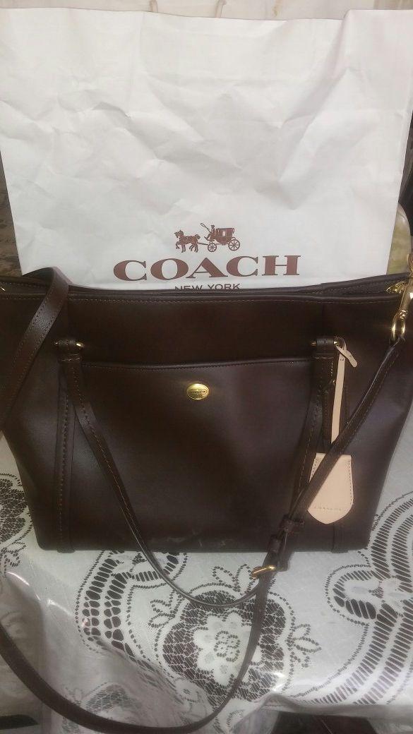 Original coach purse never used