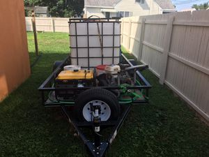 Fully loaded trailer for power washing work. EVERYTHING YOU NEED. for Sale in Millville, NJ