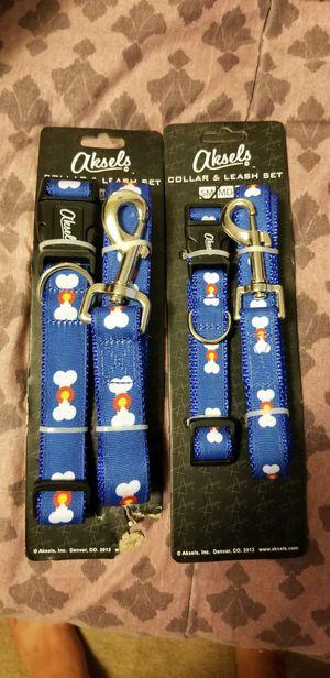 *Reduced price* Colorado dog leash/collar sets for Sale in Salt Lake City, UT
