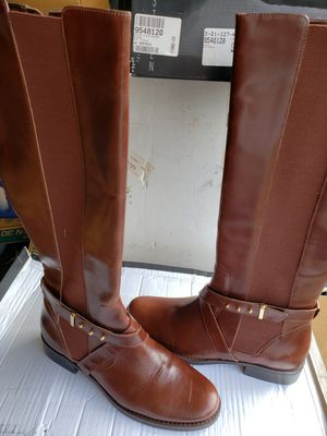 Boots, Cognac color, size 8.5 M, Brand New for Sale in Norfolk, VA