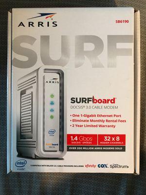 Arris Surfboard SB6190 for Sale in Sacramento, CA
