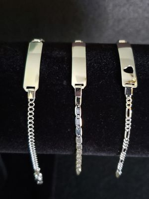 Sterling Silver Baby/Toddler ID Bracelets for Sale in Phoenix, AZ