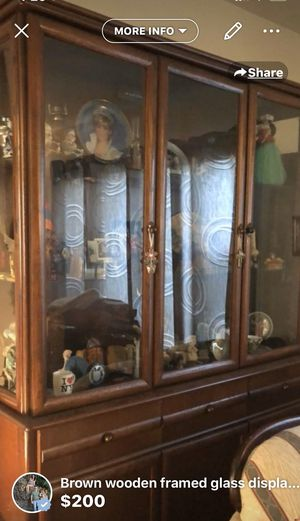 Quality wood china cabinet for Sale in Los Angeles, CA