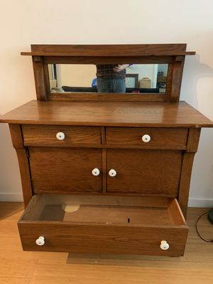 Antique Mirrored Sideboard / Buffet for Sale in Los Angeles, CA