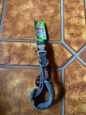 Grey dog rope collar medium for Sale in Clovis, CA