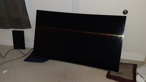 New 65 inch curved samsung smart tv for Sale in Plano, TX